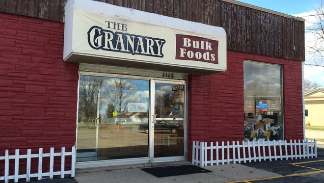The Granary Bulk Food store in Appleton will close around the end of April.
