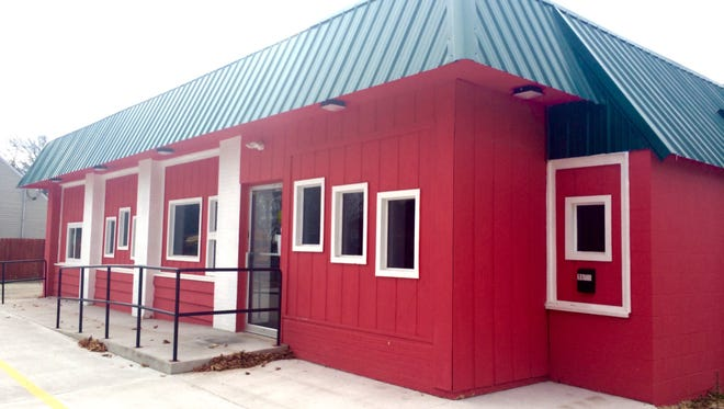 Badger Treats is the currently closed red diner at 1025 N. Badger Ave. in Appleton, near Appleton West High School.