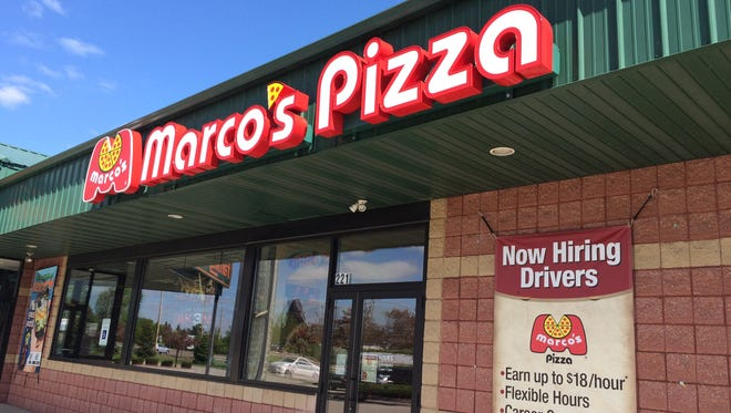 Marco's Pizza will open its third Fox Cities branch in Kimberly in July.