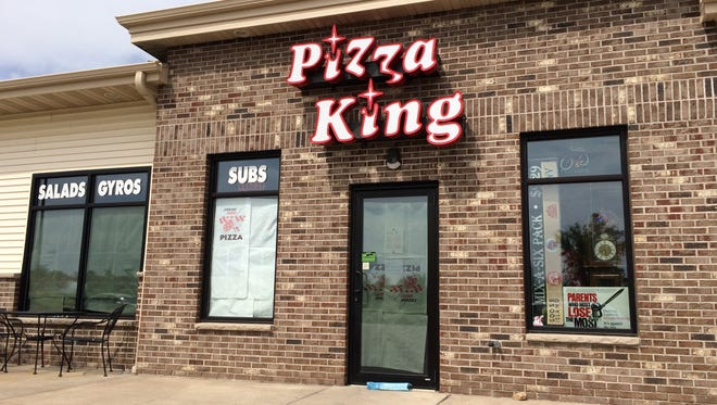 Pizza King closed at N1788 Lily of the Valley Drive in Greenville.