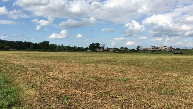 Much of the proposed TIF district in the Town of Menasha is vacant land.