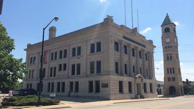 The Equitable Reserve Association building is undergoing a rebirth in downtown Neenah.