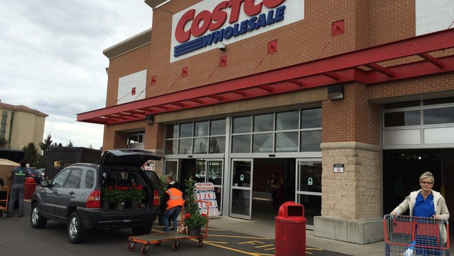 Costco Wholesale will build a membership-based warehouse store in Grand Chute this summer and fall. A Costco branch is shown here in Indianapolis.