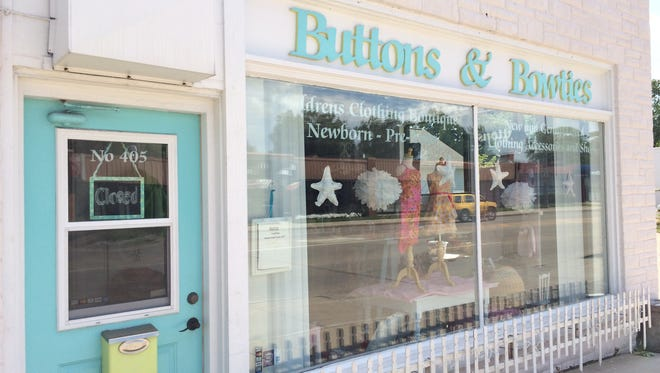 Buttons & Bowties is at 405 W. Wisconsin Ave. in Appleton.