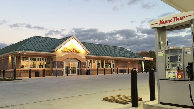 Kwik Trip opens at Midway and Appleton roads in Menasha on Oct. 22, 2015,
