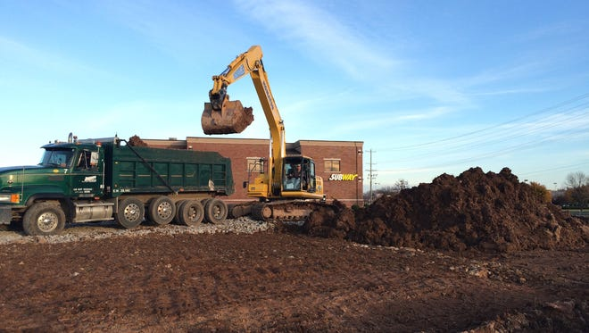 Site preparation for the future Orthopedic & Spine Therapy building in Menasha.