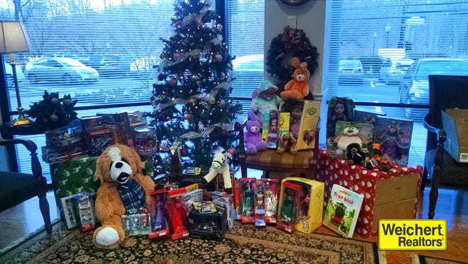 Weichert, Realtors has been collecting toys for disadvantaged children for 37 years.