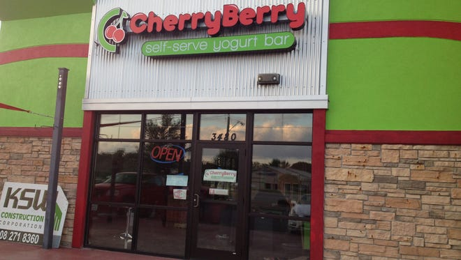 CherryBerry closed its Grand Chute location next door to Denny's on W. College Avenue.