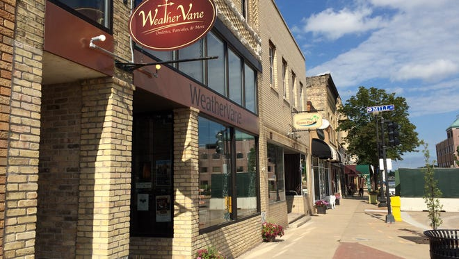 The WeatherVane Restaurant in downtown Menasha.