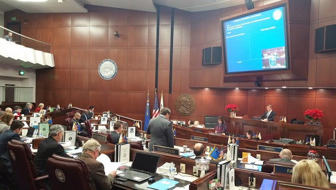 The Nevada Senate begins a special legislative session Wednesday in Carson City to consider incentives for electric carmaker Faraday Future. Gov. Brian Sandoval called Nevada lawmakers into the special legislative session starting Wednesday to approve tax breaks and incentives for the electric carmaker, which wants to build a $1 billion plant in North Las Vegas.