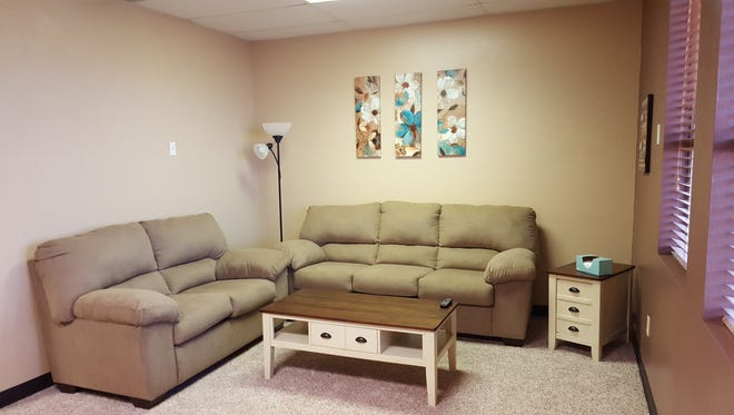 A new 'Soft Interview' room gives victims a comfortable spot to stay when working with police in Hurricane and surrounding areas.