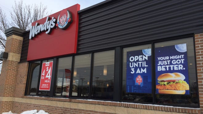 Wendy's on Oneida Street got a facelift recently.