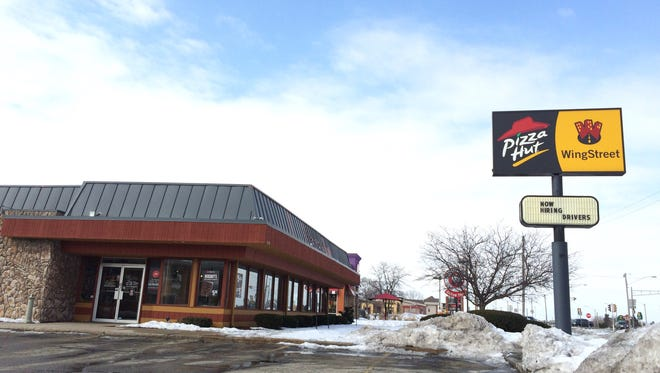 Feb. 22, is the Grand Chute Pizza Hut's last day in business.