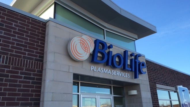 BioLife Plasma Services opened its new building on Tuesday in Buchanan.