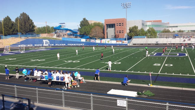 Dixie, the two-time defending champions battled to a 1-1 draw with Logan at Flyer Field Friday afternoon.