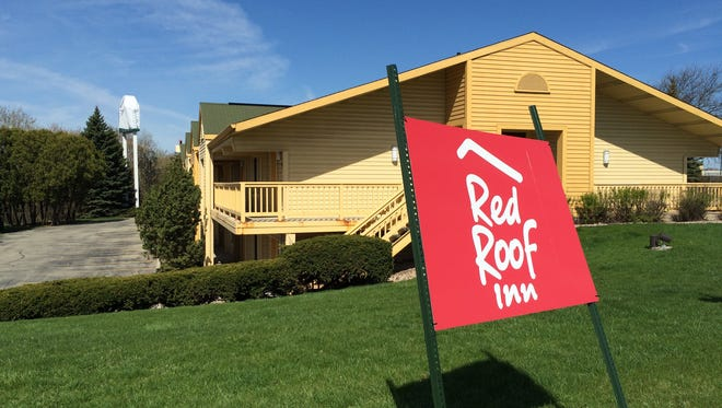 One of the former La Quinta buildings is now a Red Roof Inn in Grand Chute.