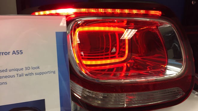 Varroc Lighting uses new technologies to develop vehicle vehicle lights that provide personalization and more illumination