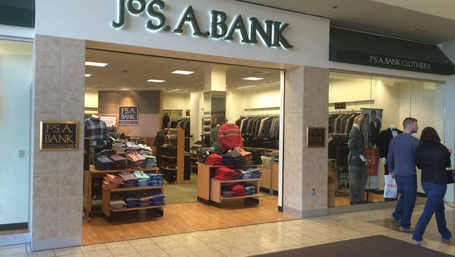 Jos. A Bank will close June 10 in the Fox River Mall in Grand Chute.