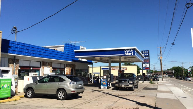 Badger Avenue Gas is still open at 1201 N. Badger Ave. in Appleton, but was foreclosed by its bank.