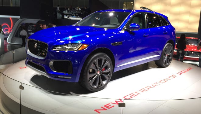 The 2017 Jaguar F-Pace SUV, which made its North American debut at the 2015 Los Angeles auto show, is among a crop of new SUVs that will compete for North American SUV of the Year, an award judged by a 60 member jury.