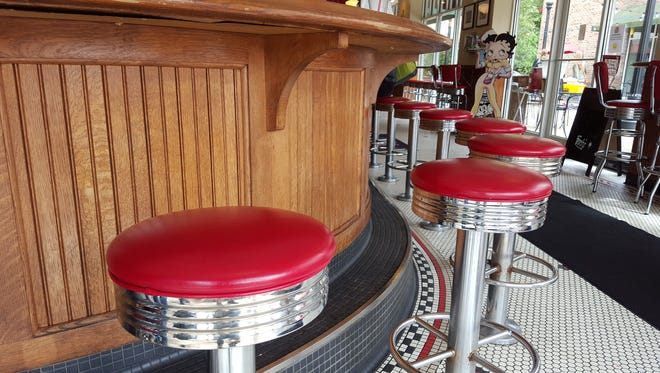 Ferch's Malt Shoppe in Greendale offers the same kind of historic appeal by hand mixing custard with multiple flavors and toppings on a cold marble slab and serving it in authentic glass dishes.