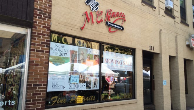 M.C. Kinney Photography is moving out of its longtime downtown Appleton studio space.