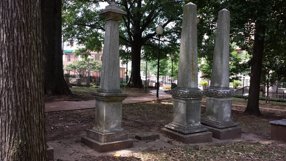 Old Settlers' Cemetery in Charlotte, N.C., is filled