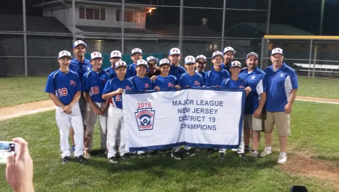 Freehold Township Little League All-Stars capture District 19 title at Middletown Little League on Tuesday night.