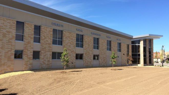 Move into new Everett Roehl Marshfield Public Library begins today, Aug. 15, 2016.
