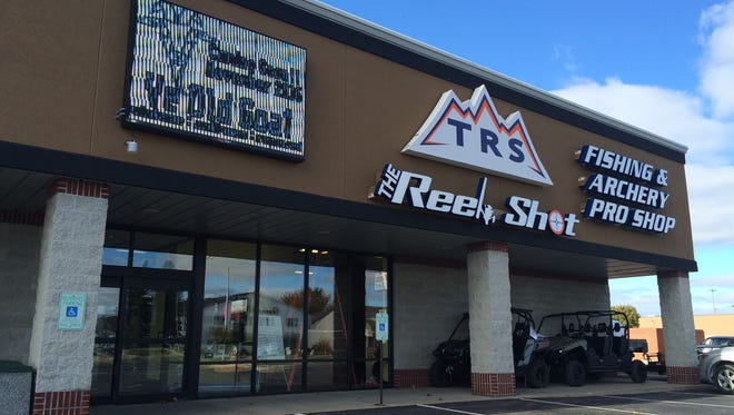 The Reel Shot store on Mall Drive in Grand Chute, near the Fox River Mall, is being converted into a pop-up location of Ye Old Goat.