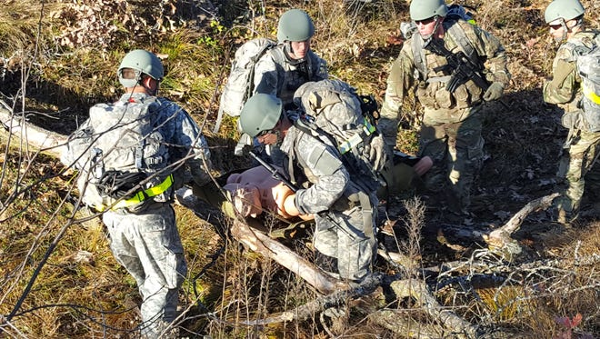 The Missouri State University Bear Battalion men's team successfully defended their title at the annual Ranger Challenge competition.