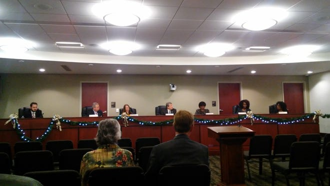 The York City Council debates the city's 2017 budget on Tuesday, Dec. 6.