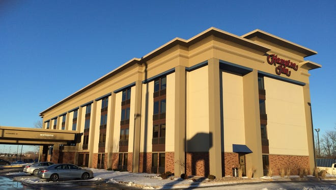 Hampton Inn is getting remodeled inside and out in Grand Chute.