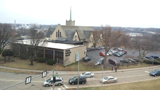 Trinity Lutheran Church in downtown Appleton was sold Jan. 26, 2017 along with the adjacent Fox Banquets/Michiels.