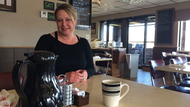 IN Menasha, Third St. Diner owner Michelle Meyer is adding seating to keep up with breakfast crowds.