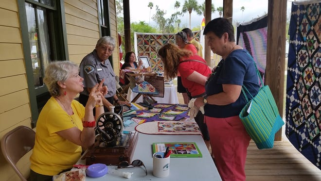 About 50 large quilts and 100 antique engines will be displayed during the annual Antique Engine and Quilt Show at Koreshan State Historic Site.