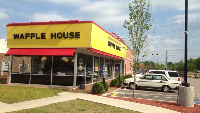 This Waffle House is at the northwest corner of Rutherford and Mercury boulevards. Another Waffle House is proposed for the south side of Joe B. Jackson Parkway about a third of a mile from Interstate 24.
