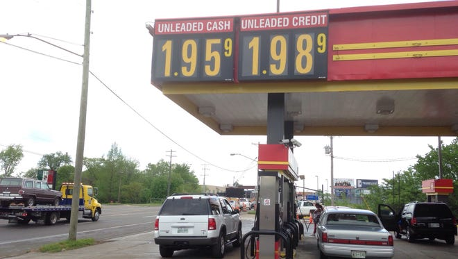 Gas stations such as this one at Dodge's on Broad Street in Murfreesboro will be expected to collect an increase in state taxes of 6 cents per gallon for gasoline and 10 cents per gallon for diesel after both houses of the Tennessee General Assembly approved Gov. Bill Haslam's proposal to provide more funding for road and bridge projects.