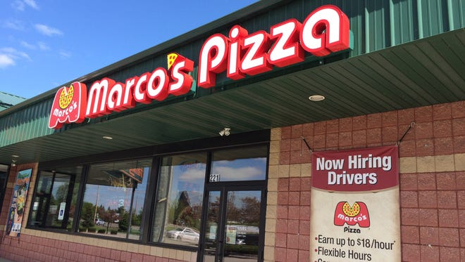 Marco's Pizza has closed in Kimberly.