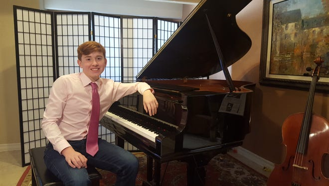 Samuel Maddox is among the six finalists of the El Paso Society for Musicians of the Future's 2017 Competition for Young Musicians.