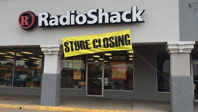 RadioShack in Appleton's Northland Mall is closing.