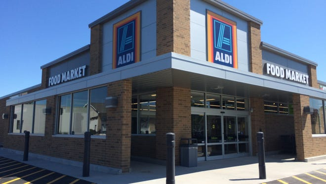 Aldi reopened Thursday at 116 N. Linwood Ave. in Appleton after its remodel.