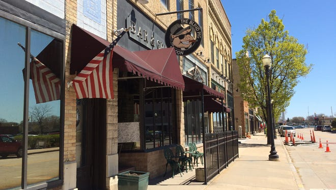 The Blind Pig was in the center of downtown Menasha.