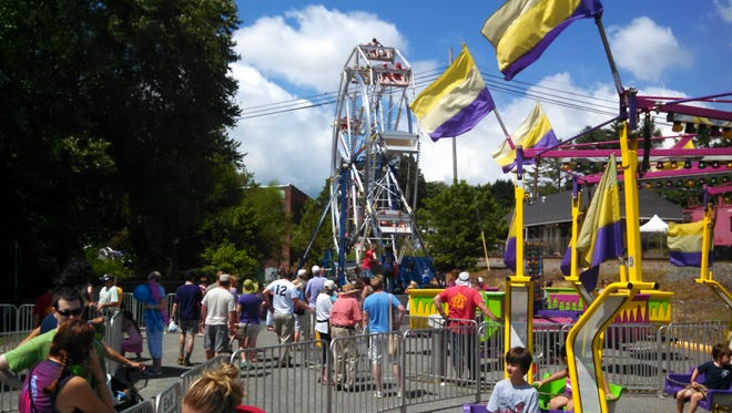 The 42nd Annual Sourwood Festival will take place in downtown Black Mountain from Friday, Aug. 9 to Sunday, Aug. 11.