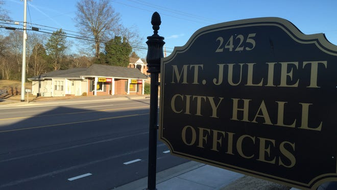 Mt. Juliet commissioners have approved 134 homes on property off Central Pike now annexed into the city limits.