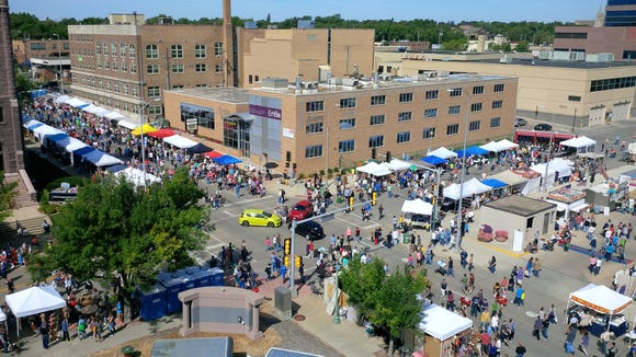 The 54th Annual Sidewalk Arts Festival will take over downtown Saturday.