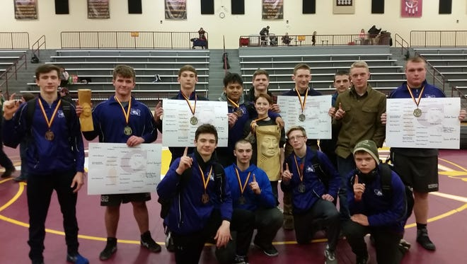 The Mitchell Mountaineers started the new year off by capturing the team title at Cherokee's annual Onsley B. Saunooke Memorial Tournament.