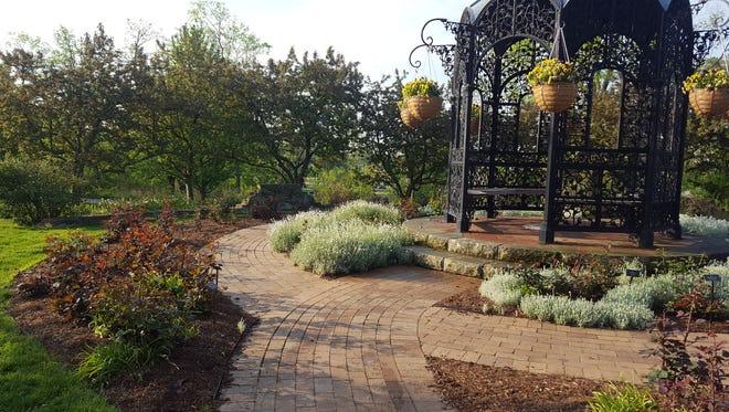 The Minnetrista Rose Garden