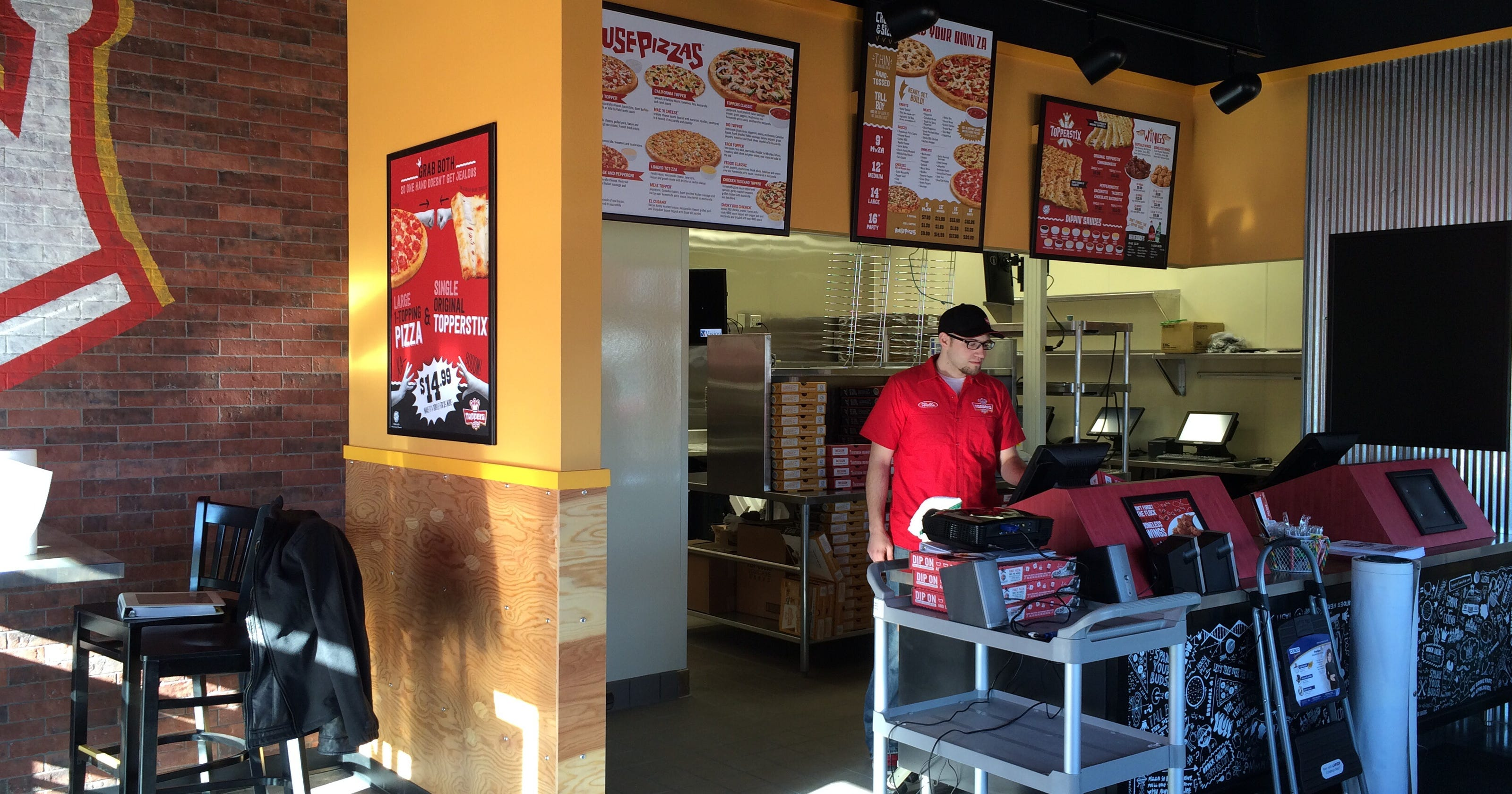 The buzz toppers pizza to open friday in menasha junglespirit Choice Image