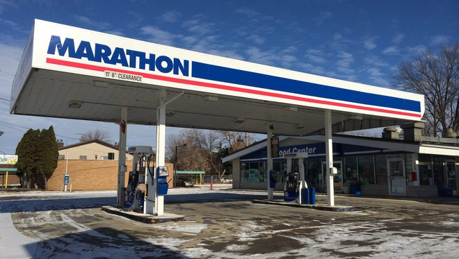 Marathon at 309 First St. in Neenah has been closed for more than a month.